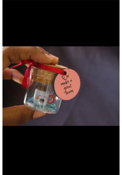 Teacup message in a bottle