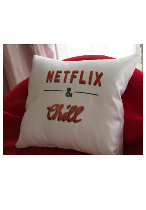 Netflix and Chill Scatter Cushion