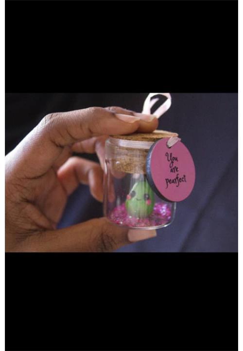Pear message in a bottle