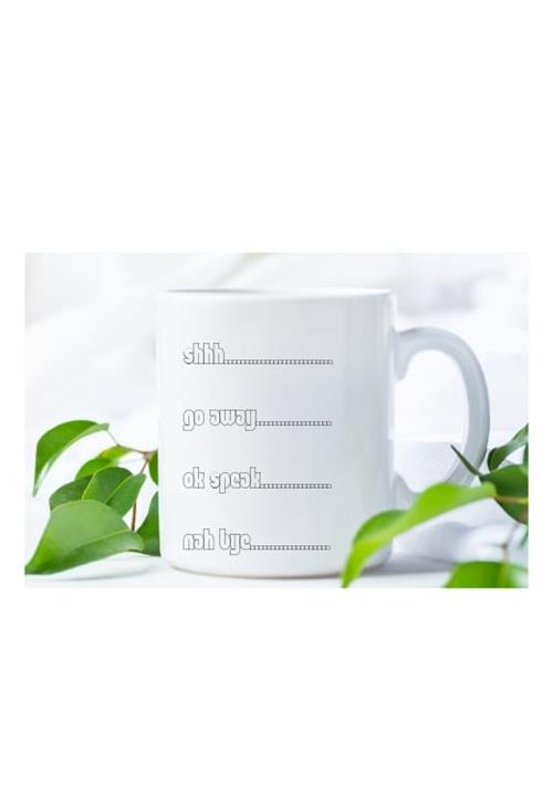 Nah Bye mug