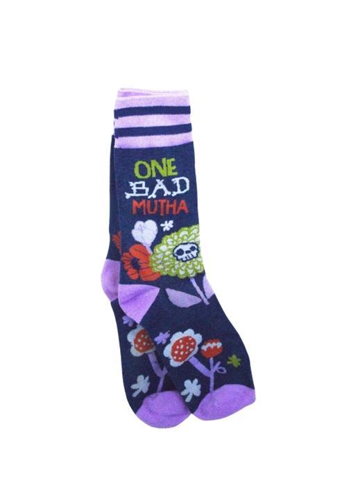 Funny One Bad Mutha Socks