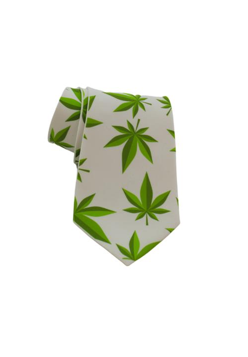 Casual Weed Necktie