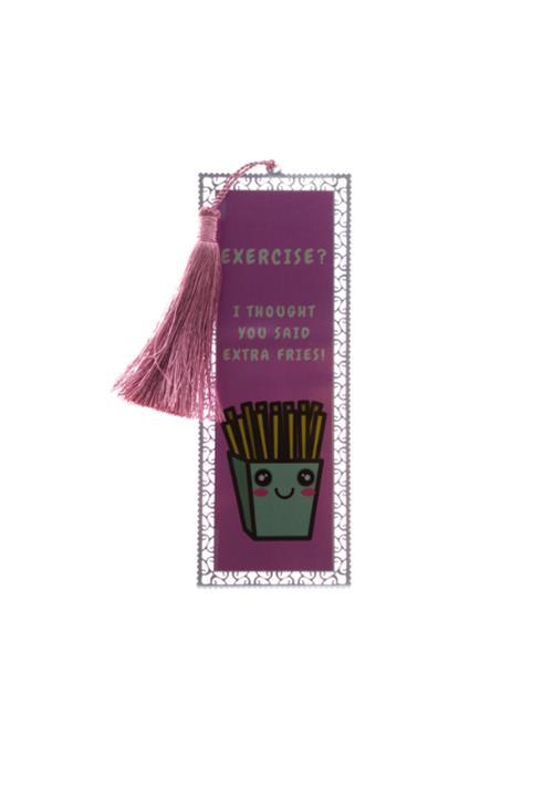 Extra Fries Bookmark