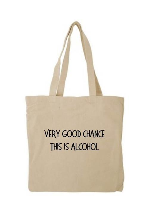 This Is Alcohol tote