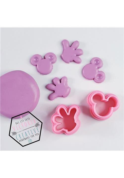 MICKEY MOUSE POLYMER CLAY CUTTER