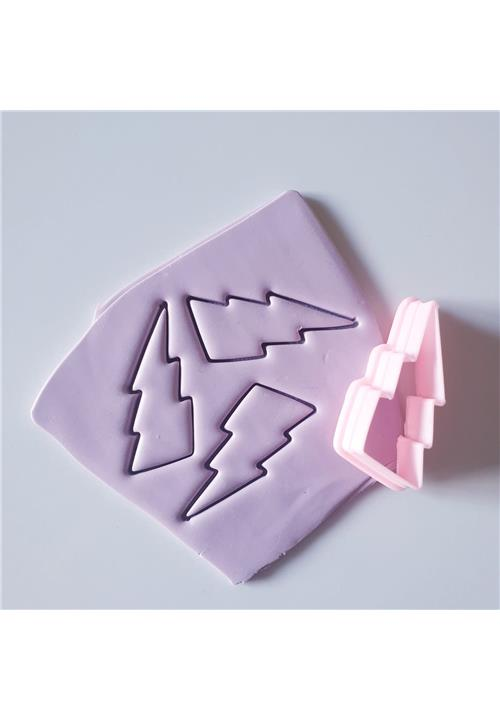 LIGHTNING FLASH (SET OF 2) - POLYMER CLAY CUTTERS