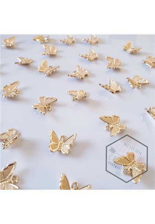 GOLD BUTTERFLY FINDINGS - NICKEL FREE