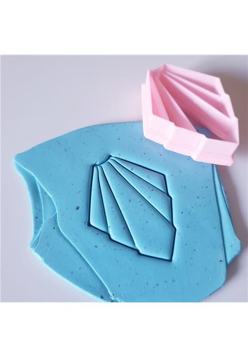 EMBOSSING CUTTER 3 - POLYMER CLAY CUTTERS