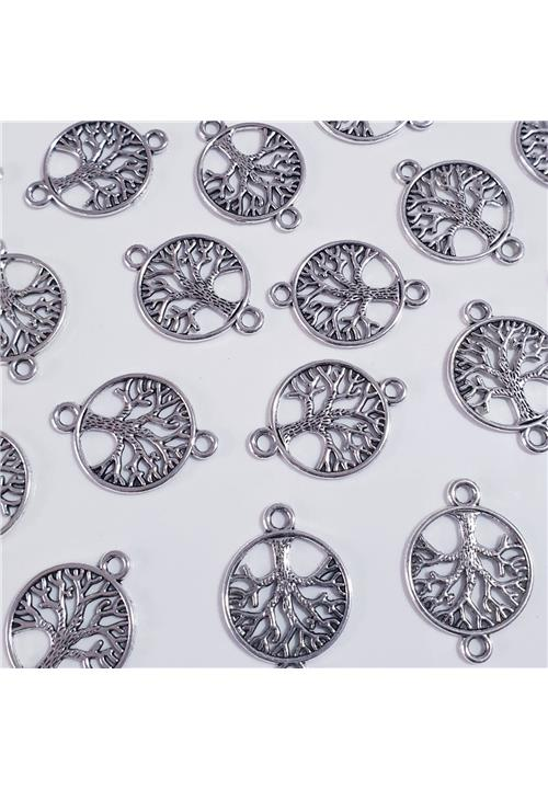 SILVER TREE OF LIFE FINDING - NICKEL FREE