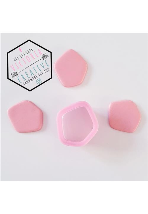 PEBBLE SHAPE 1 POLYMER CLAY CUTTER
