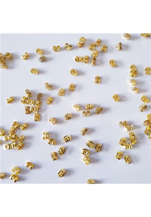 YELLOW GOLD BUTTERFLIES - NICKEL FREE
